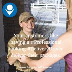 Your customers like having a looking deliver their packages. Safety Clothing, Work Uniforms, Budgeting, Delivery, Packaging, Clothes, Outfits, Clothing, Work Attire