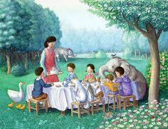 "Shinya Okayama, ""Birthday Party"".  I like the gentleness of the mother best here."