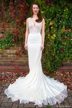 Margo Stankova 2015 Wedding Dresses — Peony Bridal Collection | #weddingdream123