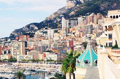 If there is one place in the world that exudes class, it's Monaco. World Photo, City Beach, Kos, San Francisco Skyline, Monaco, Travel Tips, Ocean, Places, Travelling