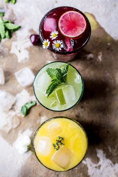 These are the five best lemonade recipes ever, hands down. Scroll through to get a modern twist on the classic refreshment.