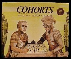 Cohorts: Game of Roman Checkers | Image | BoardGameGeek