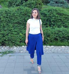Anne-Marie Ferdean: Skirt Pants