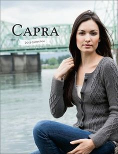 Dianthe Cardigan-Capra Collection eBook - Knitting Patterns