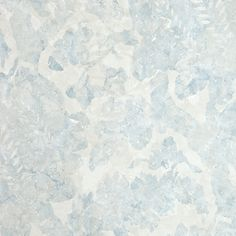 Carrera Floral Wallpaper Contemporary Damask wallpaper with layered marble effect in sky blue and light taupe.