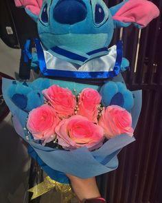 #flower #stitches #blue