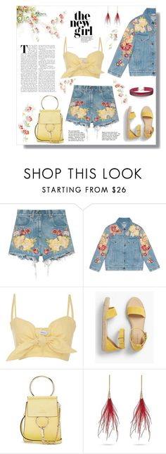 """""""New Girl"""" by outfitsloveyou ❤ liked on Polyvore featuring Gucci, Faithfull, Talbots, Chloé and Miss Selfridge"""