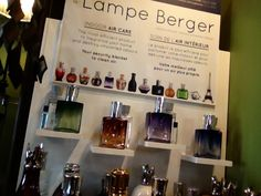 Flower Attic & Gifts. Virden Manitoba    Lampe Berger  over 25 different scents and plenty of different burners to choose from