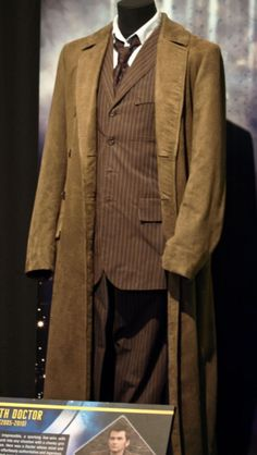 The Tenth Doctoru0027s original costume on display & Second Doctor Costume | Dress Up | Pinterest | Doctor costume and ...