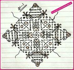 Rangoli Patterns, Rangoli Designs Images, Rangoli Designs Diwali, Rangoli Designs With Dots, Kolam Rangoli, Rangoli With Dots, Beautiful Rangoli Designs, Simple Rangoli, Mehndi Designs
