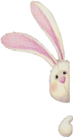 Happy Easter my sweet friend! I hope your day is filled with family, friends, & lots of chocolate in your Easter basket! so cute thank you so much Lapin Art, Motifs Animal, Bunny Art, Cute Illustration, Illustration Children, Easter Crafts, Cute Drawings, Cute Art, Watercolor Art
