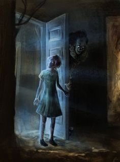 A Peek Inside pt 2 by psychodelicate-art Scary Photos, Creepy Pictures, Scary Picture, Clown Horror, Horror Monsters, Scary Movies, Horror Movies, Samara Morgan, Scary Wallpaper