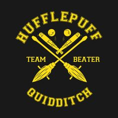 Check out this awesome 'HUFFLEPUFF+-+TEAM+BEATER' design on @TeePublic!