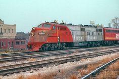 https://flic.kr/p/23iro99   Joliet Union Station   Rock Island #630 (EMD E6A) Photo was taken in 1977.