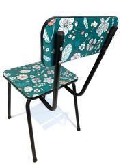 Chaise En Formica Relookee Tissu A Fleur En Coton Enduit Page Facebook Little Big Vintage Mobilier Meuble Vintage Et Chaise Formica