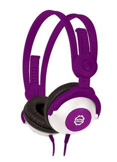 Kidz Gear Headphones Portable Audio Headphones Purple Audio Equipment Brand New…