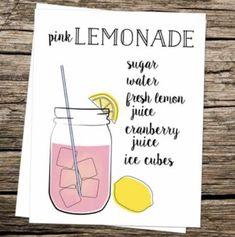 Source: Pinterest | #wittyvows #lemonade #pink #lemon #lemonadepunch #lemonadeparty #recipe #drinks #ice #cooler #diy #potd #trending Freshly Squeezed Lemonade Recipe, Pink Lemonade Recipes, Indian Drinks, King Cake Baby, Cranberry Juice, Sweet Tea, Mojito, Home Gifts, Summer Recipes
