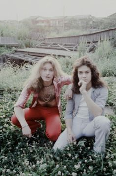 Eddie Van Halen & David Lee Roth on trip to Japan