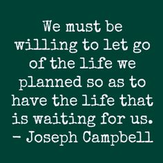 Are you willing to let go?