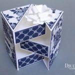 Tutoriel Boîte à Bijoux / Boîte Secrète « Papier Boutique Fleurie »