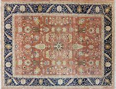 Chobi Peshawar Hand Knotted Oriental Wool Rug