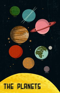 The Planets  by Andrea Lauren