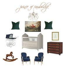 royal baby inspired nursery // yellowcrownblog.com