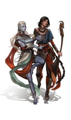 ArtStation - Archetypes - Blue Rose, Marie Magny