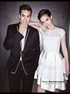 Nadech Kugimiya and Yaya Urasaya Thai Princess, Actor Model, Celebs, Celebrities, Best Couple, Cute Couples, Beautiful People, Glamour, Photoshoot