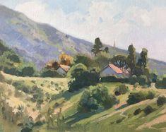 """Lynne Fearman, """"Sunrise Hill"""" 8x10"""