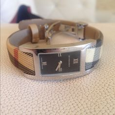 Burberry Women's Watch Authentic Burberry women's Swiss Made Watch. Comes with original box! Burberry Jewelry