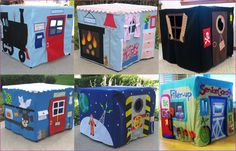 Tafeltenten maken voor je peuter Sewing Projects For Kids, Sewing For Kids, Diy For Kids, Craft Projects, Crafts For Kids, Card Table Playhouse, Diy Fort, Diy Play Kitchen, Table Tents