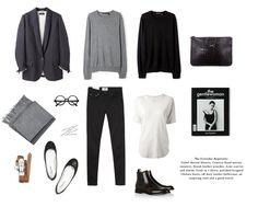 "aminuteawayfromsnowing: "" A New Attitude: Uniform Dressing "" French Minimalist Wardrobe, Minimalist Fashion, Minimal Wardrobe, Capsule Wardrobe Work, Wardrobe Basics, Travel Wardrobe, Classy Outfits, Cool Outfits, Winter Typ"