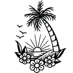 Tattoo Sketches, Tattoo Drawings, Art Drawings, Desenhos Old School, Bottle Tattoo, Tattoo Signs, Tatuagem Old School, Semi Permanent Tattoo, Tattoo Flash Art