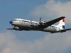 KLM Douglas DC-6 by Starliner1649, via Flickr