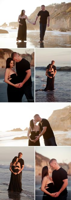 Maternity At the Beach | Southern California |Julie Campbell Photography