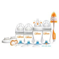 Kinda liking this bottle. Seems to have great reviews :) Any moms use this for their little ones?  Munchkin LATCH™ Newborn Baby Bottle Gift Set