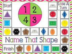 Teaching shapes to kindergarten is part of many standards based curriculums. I wanted to share creative ways for teaching shapes in kindergarten. Preschool Math, Math Classroom, Kindergarten Math, Fun Math, Classroom Ideas, Preschool Ideas, Kindergarten Addition, Preschool Colors, Math 2