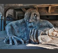 Seattle's Famous Fremont TrollThe Aurora Avenue Bridge. The Fremont Troll has been a part of Seattle for over a decade, and it is here to stay. Believe it or not, tourists from around the world come to see the Troll