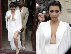 kim kardashian white dress and tom ford sandal - Pesquisa Google