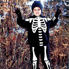 Skeleton Kids' Costume