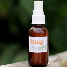 This all natural bug spray is super easy to whip up and is actually good for you. Oh, and bugs HATE it.