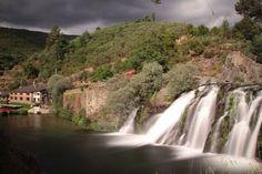 Cascata do poço da broca, lugar da barriosa, freguesia de Vide, Seia, Serra da Estrela - ribeira do Alvôco