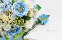 Realistic Graphic DOWNLOAD (.ai, .psd) :: http://jquery.re/pinterest-itmid-1006762499i.html ... Flower and notebook ...  arrangement, background, beautiful, blank, book, bouquet, color, floral, flower, flowers, fresh, green, letter, love, message, nature, note, notebook, paper, romance, spring, white, wood, wooden  ... Realistic Photo Graphic Print Obejct Business Web Elements Illustration Design Templates ... DOWNLOAD :: http://jquery.re/pinterest-itmid-1006762499i.html