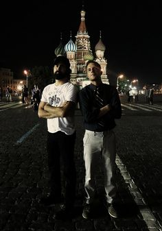 Brandon Flowers & Ronnie Vannucci in Russia
