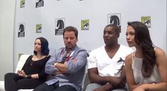 One nice and fun interview with the Syfy's Dark Matter crew at the Comic-Con 2015 by GeekWorldRadio