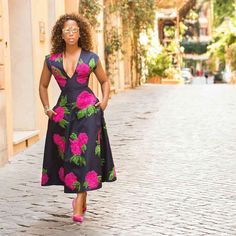 Cute Ankara Styles that are perfect to Rock this Weekend The Nigerian fashion world is changing tremendously and as a fashionista, you need to move w… African Attire, African Wear, African Fashion Dresses, African Women, African Dress, Ghanaian Fashion, Nigerian Fashion, The Lady Loves Couture, Love Couture