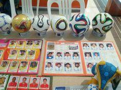 Destacan los balones miniatura del último mundial Brasil 2014, los Brazuca Final Río / #sports #soccer #fútbol #colección #soccerfan #football