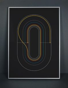 """Inspired by Bradley Wiggins' Tour De France win and the Summer Olympics 2012 in London – Glasgow-based Design Consultancy Graphical House created these minimalist graphic cycling posters. The """"Wiggo"""" print details each stage time of Bradley Wiggins' Tour victory while """"Velo"""" pays tribute to the the Velodrome."""