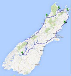 New Zealands South Island